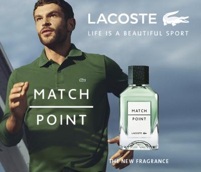 Matchpoint von Lacoste